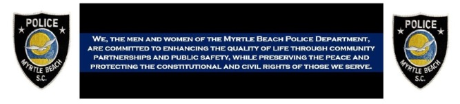 Myrtle Beach Police Department P2C